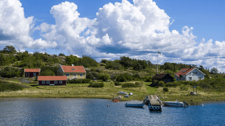 Sweden the country with the most Islands