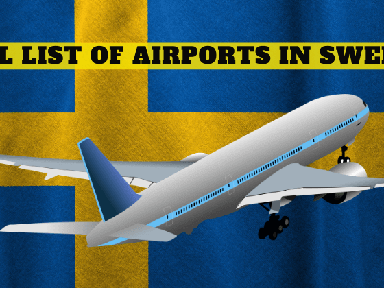 list of airports in Sweden