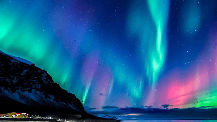 Northern Lights in Sweden Aurora Borealis