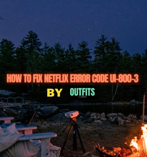 Netflix Error Code ui-800-3