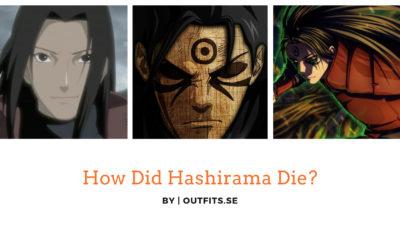 How did Hashirama die